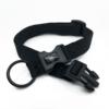 black adjustable length collar