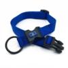 blue adjustable length collar