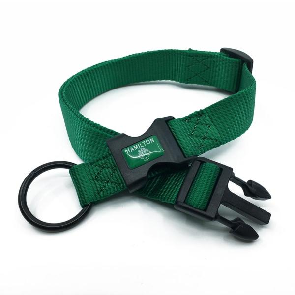 green adjustable length collar