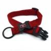 red adjustable length collar