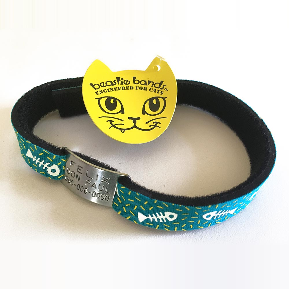 Beastie Band Cat Safety Collar with CollarTag2