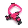 pink mini collar adjustable style collar for pets
