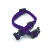 purple mini collar adjustable style collar for pets